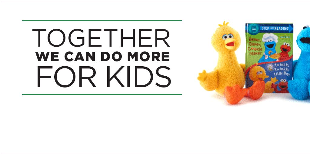 together we can do more for kids: Kohl's Cares