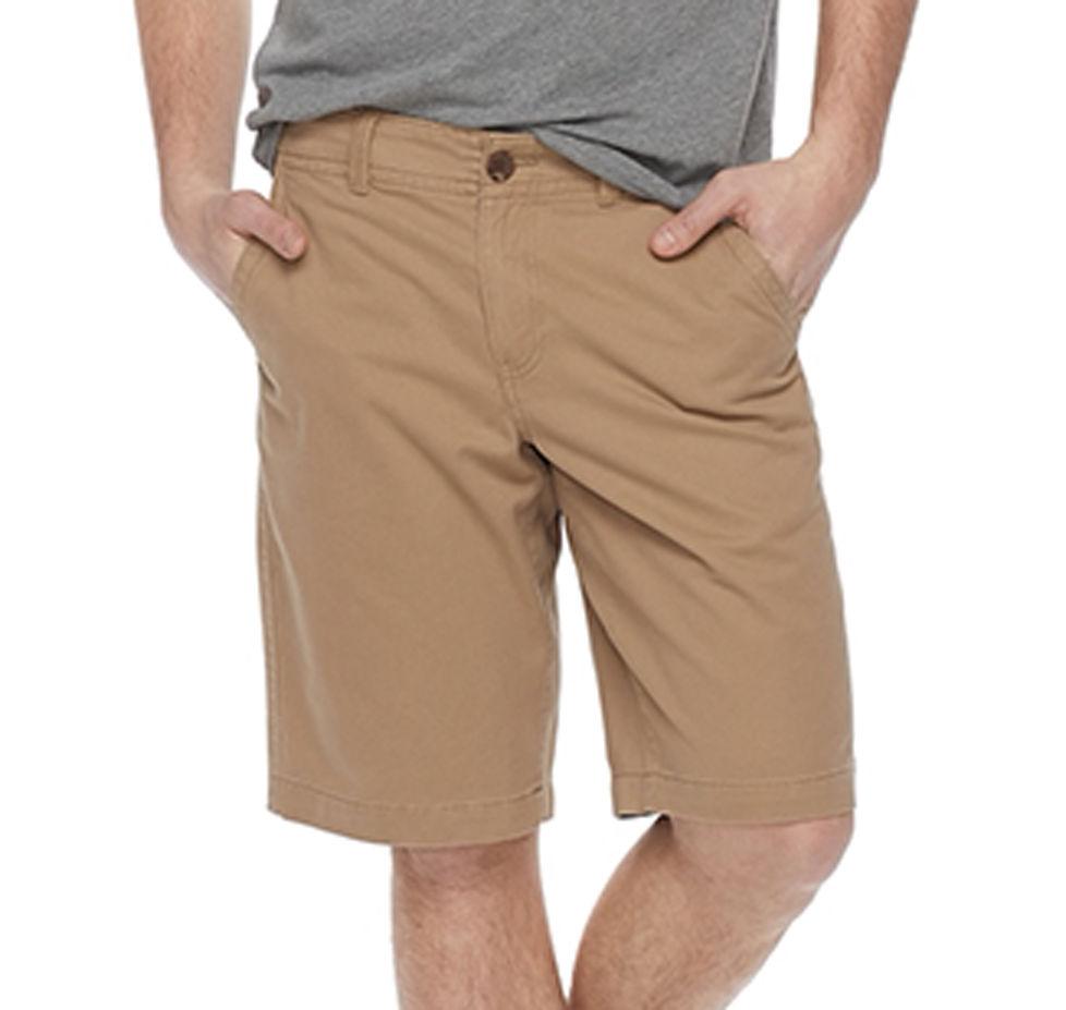 "097371074e0bbb Urban Pipeline® Twill Flat–Front Shorts · Shop Men's Shorts · """
