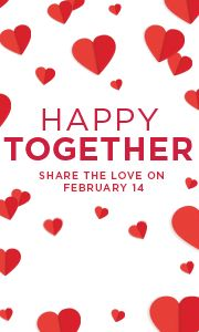 Happy Together. Share the love February 14th.