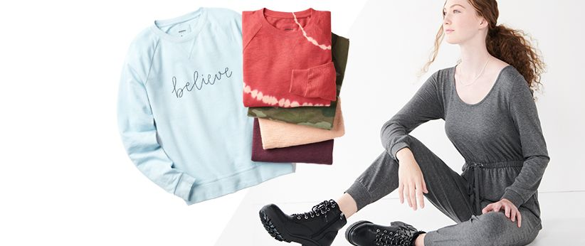 women's athleisure clothing at Kohl's