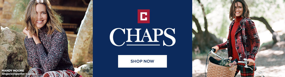 Chaps. Mandy Moore singer, songwriter and actress. Shop Now