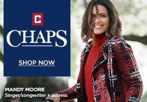 Chaps. Mandy Moore. Shop Now