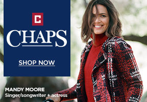 Chaps. Mandy Moore. Shop Now