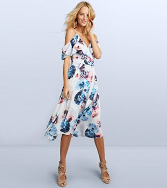 women's floral print clothes