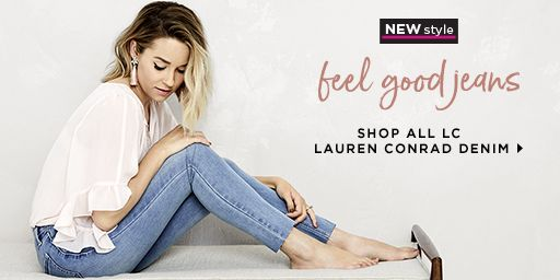 Feel Good Jeans for women from LC Lauren Conrad