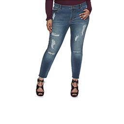 Plus Size Jeans & Pants