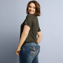 women's plus bottoms