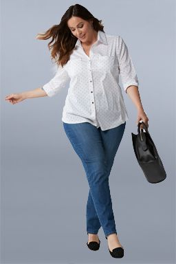 women's plus casual apparel