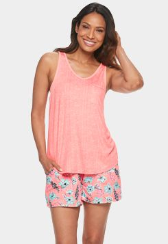 Big Girls Summer Lace Satin Sleepwear Top and Shorts Pajamas Size 12 14 16