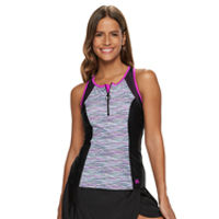 bb73acbbb0c woman in two-piece swimsuit. athletic