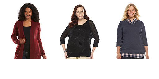 Plus Size Sweaters & Cardigans