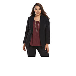 Plus-Size Wear to Work Clothing