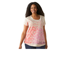 Plus Size T-Shirts and Tank Tops