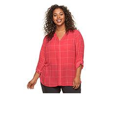 Plus Size Shirts & Plus Size Blouses