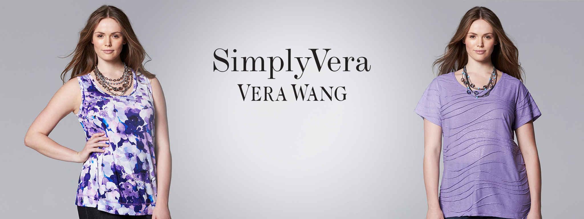 Simply Vera Vera Wang Plus-Size Clothing