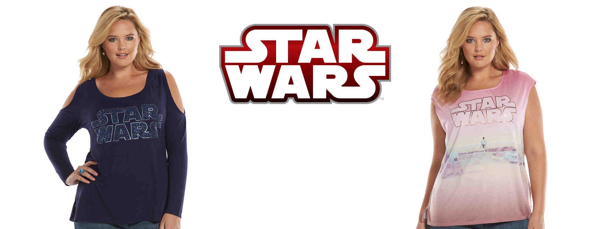Star Wars Plus Size Clothing