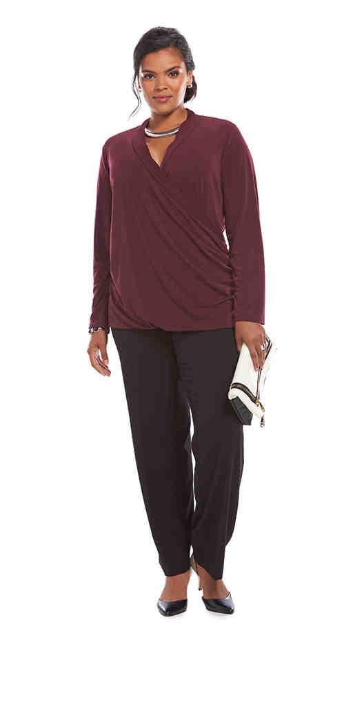 Plus-Size Career Clothing