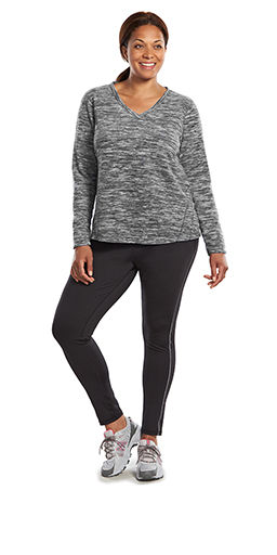 Plus-Size Gym and Training Clothes