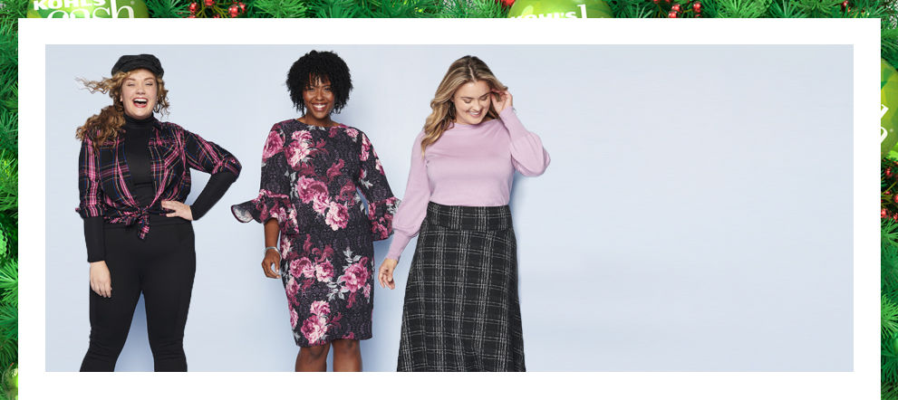 Plus Size Clothing: Shop Plus Size Clothes | Kohl's