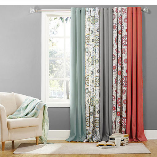 Bedroom Curtains bedroom curtains and drapes : Curtains: Shop For Window Treatments & Curtains | Kohl's